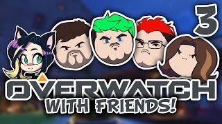 ►Overwatch w/ JackSepticEye, Markiplier, Egoraptor, Barry, and Fey ► PART 3 - Kitty Kat Gaming