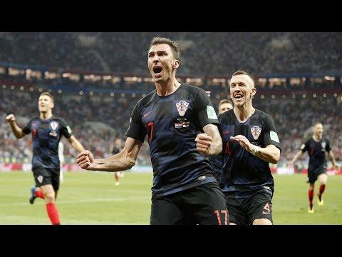 Thắng Anh 2 1, Croatia tranh cúp vàng với Pháp