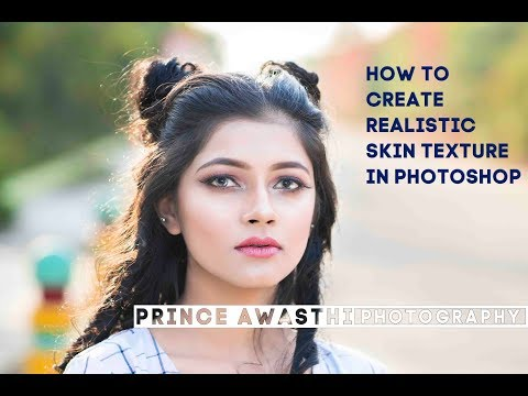 How To Create Realistic Skin Texture In Photoshop (Hindi Tutorial) thumbnail