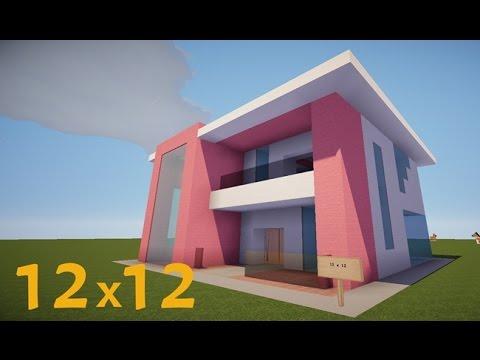 Minecraft Lüks Ev Yapımı - 12x12