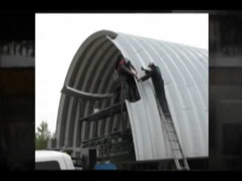 Steel Building Canada - Pioneer Sales Promotional Trailer