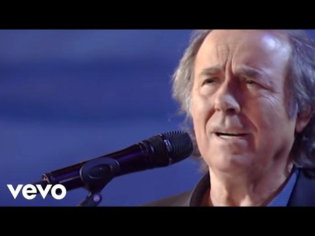 Joan Manuel Serrat - De Vez en Cuando la Vida (Actuación RTVE)