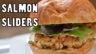 Salmon Sliders - Simple Recipe