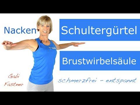 🌀12 min. Schultergürtel und Nacken aktiv entspannen, Kopfschmerzen lindern