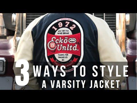 3 WAYS TO STYLE A VARSITY JACKET   The StyleJumper