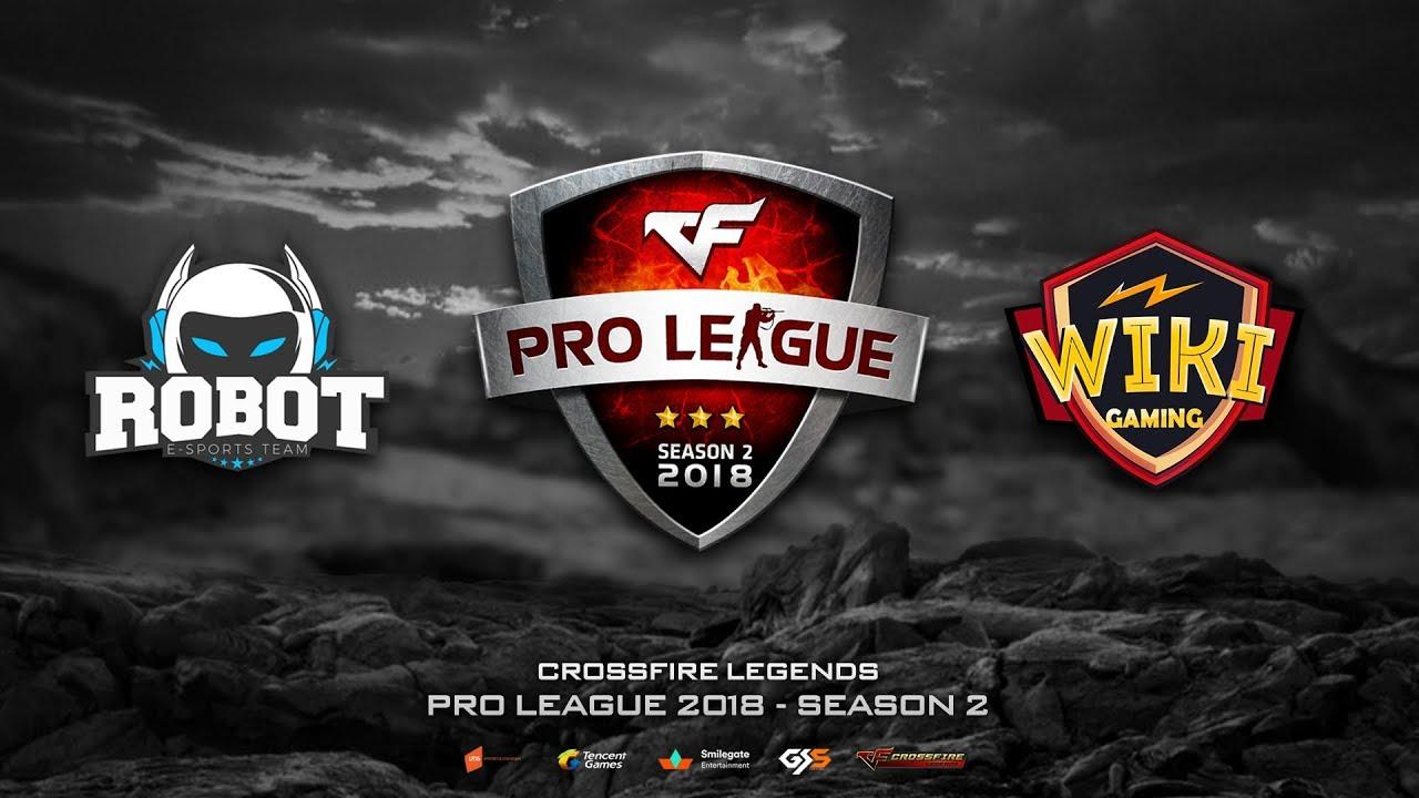 CFL | Pro League 2018 - Season 2 | Robot Esport vs Wiki Gaming | BO2