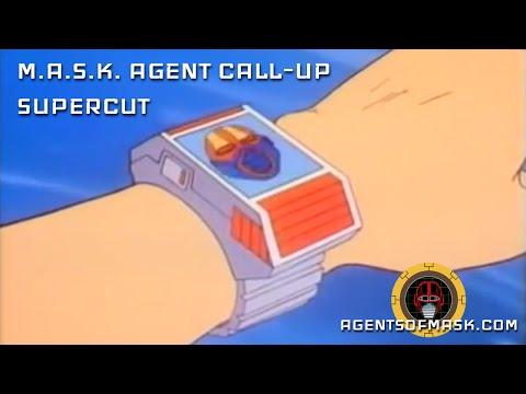 M.A.S.K. Agent Call-up Scenes Supercut