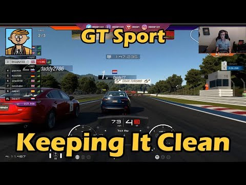 Keeping It Clean - Gran Turismo Sport Live #6