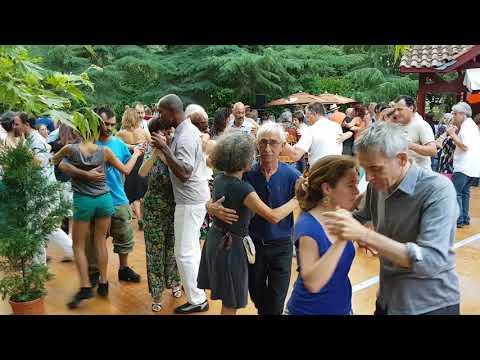 Apéro-tango - Avec Duo : Uhart - Cecchi @ Tarbes en Tango 2018 - Jardin Massey