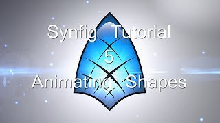 synfig tutorial 5 animating shapes