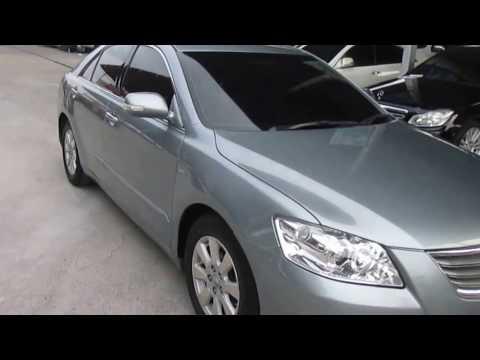 รถเก๋งมือสอง รถาคาถูก TOYOTA (โตโยต้า แคมรี่) CAMRY สีบรอนด์เงิน ปี 2007 เกียร์ออโต้#UC70