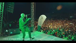 Ja'piny Face Of Africa  Live Performance in Maji maji Stadium (SONGEA)