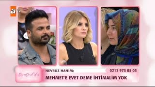 Mehmet'e evet deme ihtimalim yok - Esra Erol'da 117. Bölüm - atv