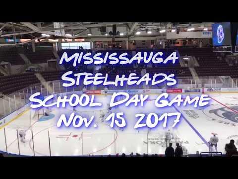 School Day Game - Mississauga Steelheads vs Erie Otters Nov. 15th 2017