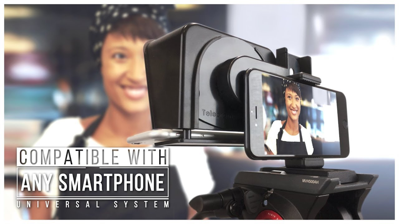 [Ad] TP-Smartclip for Parrot Teleprompter and smartphone mini-prompters