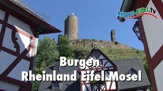 Burgen | Rheinland, Eifel, Mosel | Rhein-Eifel.TV