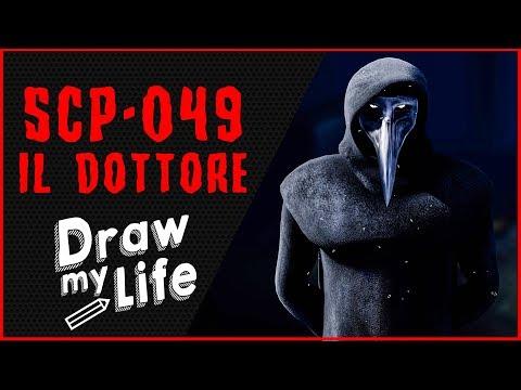 SCP 049 - IL DOTTORE 💀 DRAW MY LIFE - LE ORIGINI