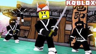 ROBLOX - BABY DUCK IS BECOMING A NINJAGO ASSASSIN!!