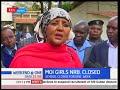 Education CS Amina Mohammed talks about Moi Girls' School rape incident