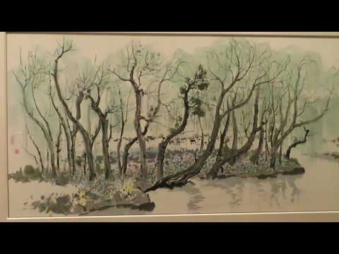 Whisper in museum - 吴冠中, Chinese paintings at Cantor