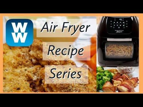 WW AIR FRYER SERIES | 2 DINNER RECIPES | WEIGHT WATCHERS!!