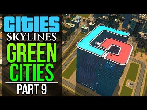 Cities: Skylines Green Cities | PART 9 | TOURISM BEGINS