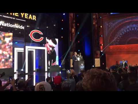 2016 NFL Draft Walter Payton Man of the Year
