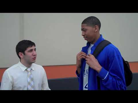 Anthony Davis First Ever Interview No Scholarship Offers with Dan Poneman SwagAir March 2010
