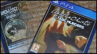 Agatha Christie : The ABC Murders PS4 (UK) Unboxing