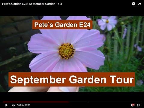 Pete's Garden E24: September Garden Tour