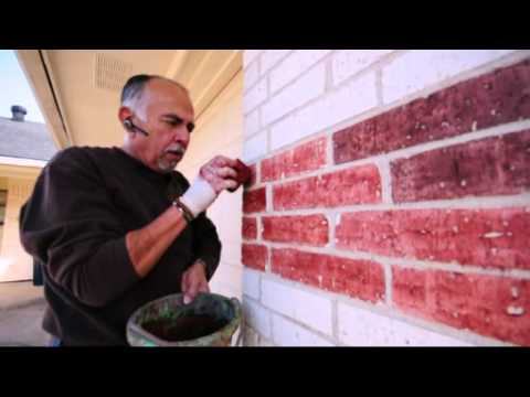 brick makeover in fw part 1 youtube. Black Bedroom Furniture Sets. Home Design Ideas