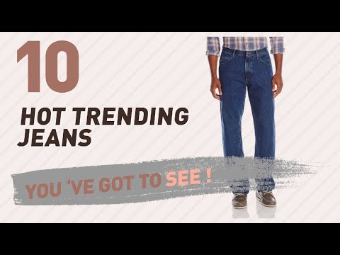 Jeans For Men Relaxed Fit, Top 10 Collection // New & Popular 2017