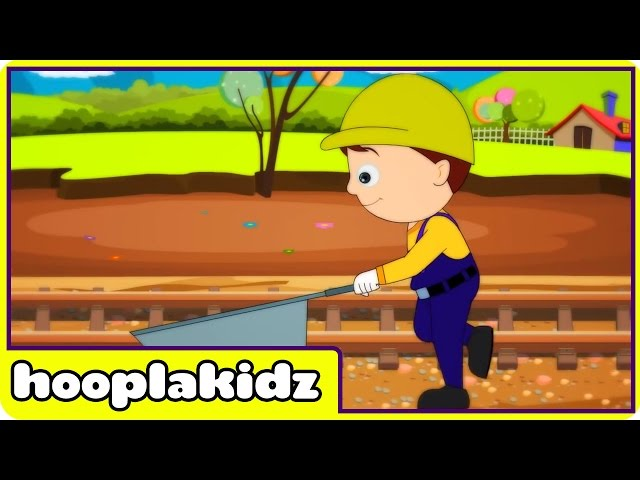 HooplaKidz | I've Been Working On The Railroad | Kids Song