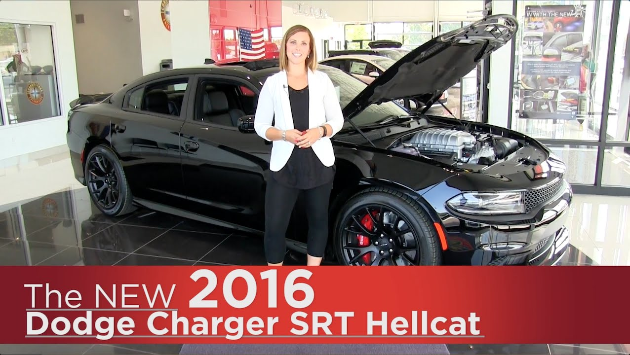 New 2016 Dodge Charger Srt Hellcat Minneapolis Elk