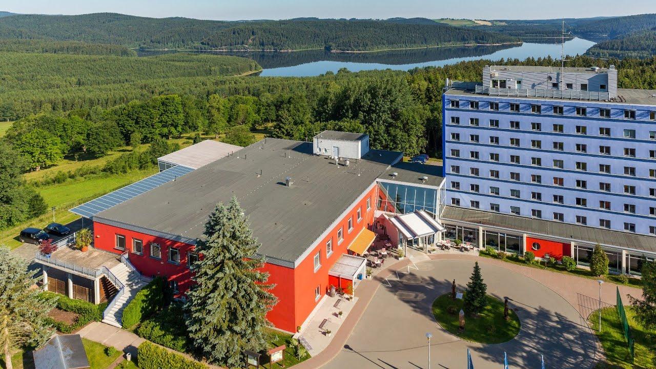 eibenstock blaues hotel
