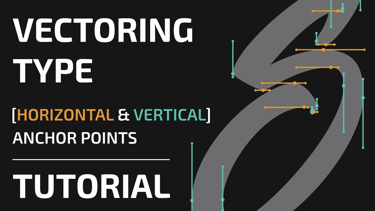 How to vectorise hand lettering adobe illustrator youtube