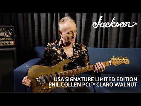 Phil Collen Demos His New USA Signature Limited Edition PC1 Claro Walnut