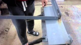 видео Как самостоятельно собрать станок гибочный для арматуры