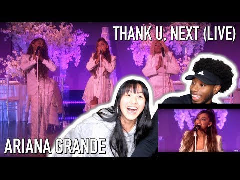 ARI GAVE US A HEART ATTACK!! | ARIANA GRANDE - THANK U, NEXT (LIVE ON ELLEN 2018) | REACTION