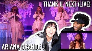 Video ARI GAVE US A HEART ATTACK!! | ARIANA GRANDE - THANK U, NEXT (LIVE ON ELLEN 2018) | REACTION download MP3, 3GP, MP4, WEBM, AVI, FLV November 2018
