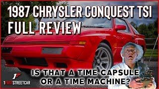 1987 Chrysler Conquest TSi Review / A close look 30 years later!