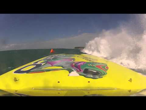 Epic Offshore Racing Showdown!!  Miss Geico Team USA Vs Gasse Norway