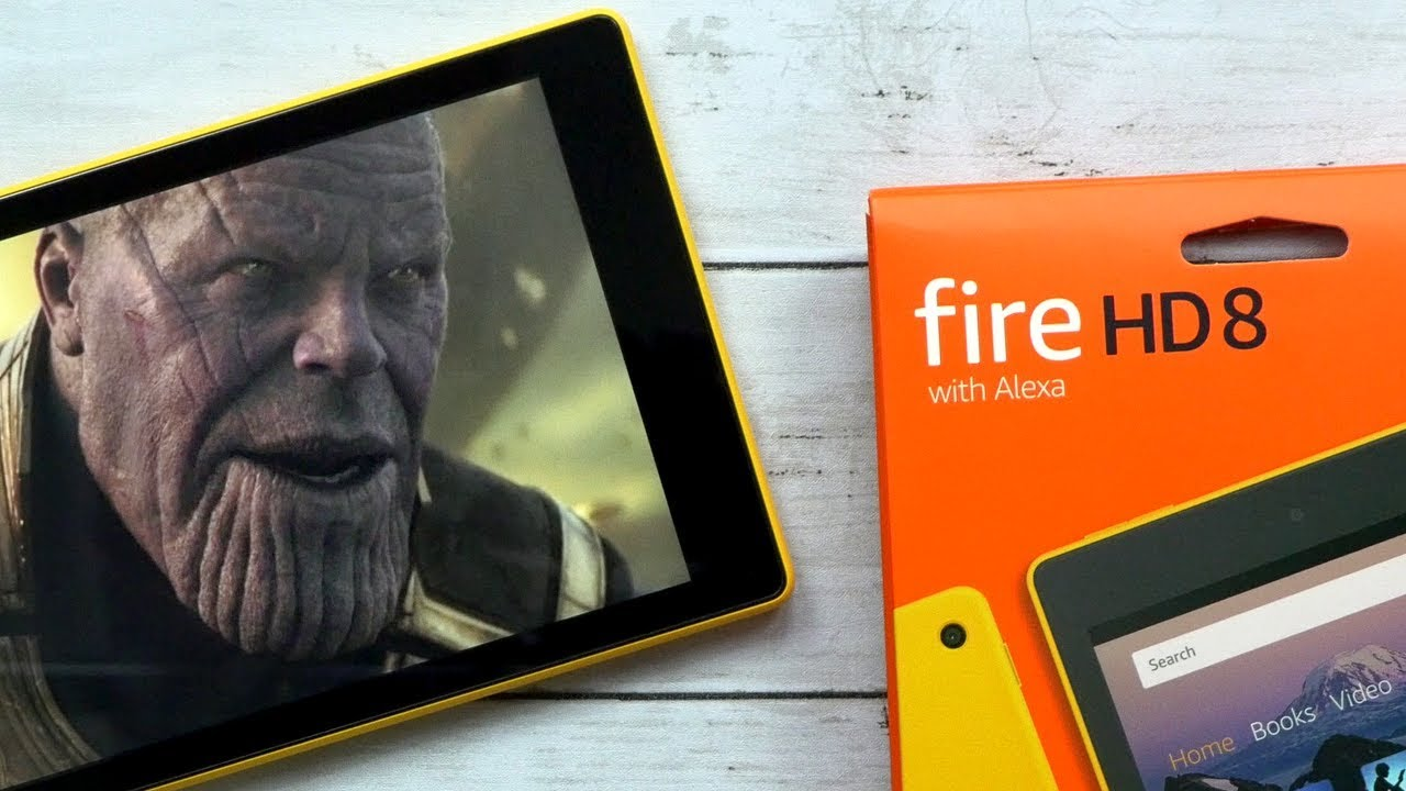 Amazon Kindle Fire HD 8 Tablet Unboxing & First Impressions