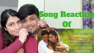 #YaaroNanu Yaaro Naanu Song Lyrics Foreigner VS Indian Reaction #PuneethRajkumar #Natasaarvabhowma