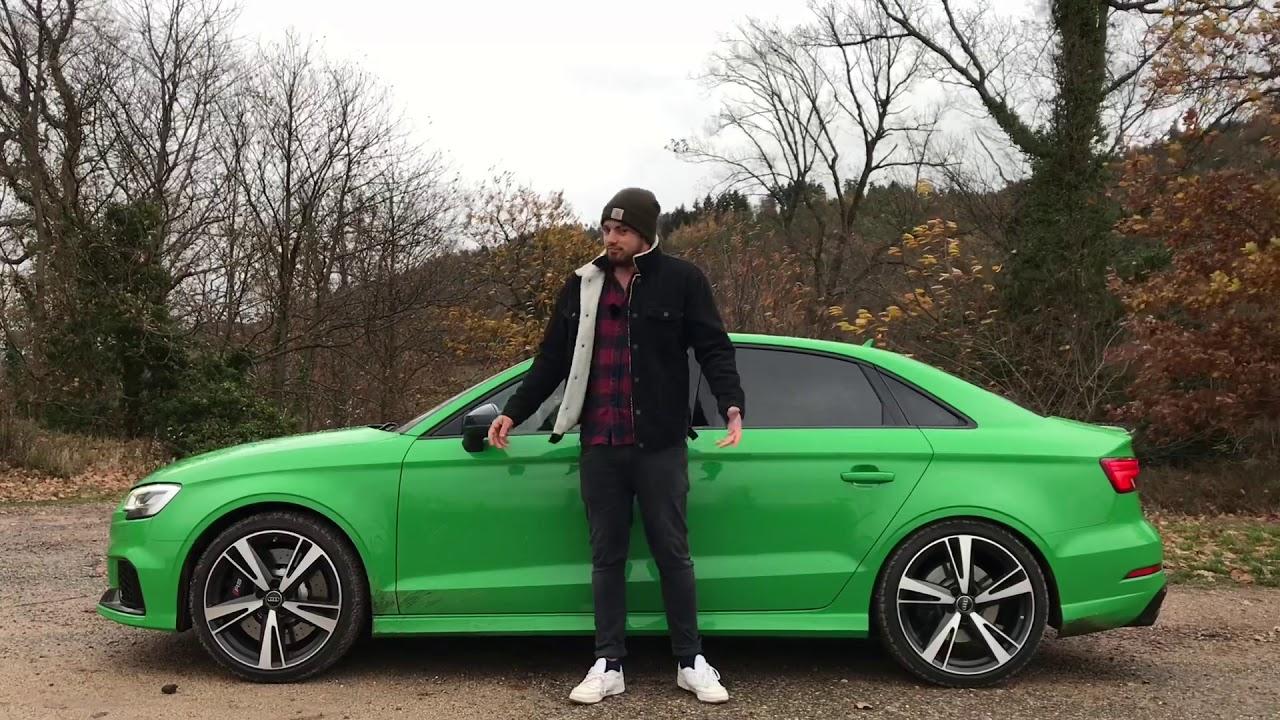 In der 2019 Audi RS 3 Limousine (400 PS) durch den ...