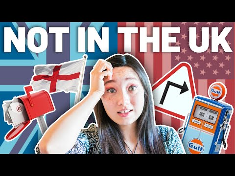 Things you CAN'T do in UK but CAN do in America (British Culture) ����❌