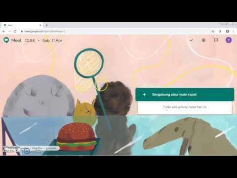 Cara Menggunakan Hangout Meet G Suite - YouTube