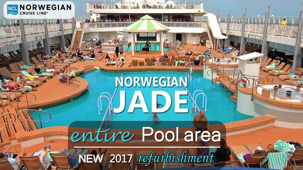 Norwegian Jade refurbished | completely new pool area DJI Osmo+ - YouTube