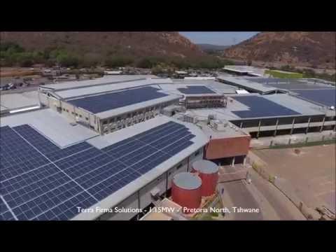 Terra Firma Solutions 1.15MW Solar PV Plant Pretoria Tshwane