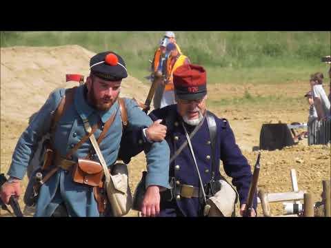 Centenaire de la 1ere guerre mondiale 1918 à Serris près de Paris le 19 mai 2018